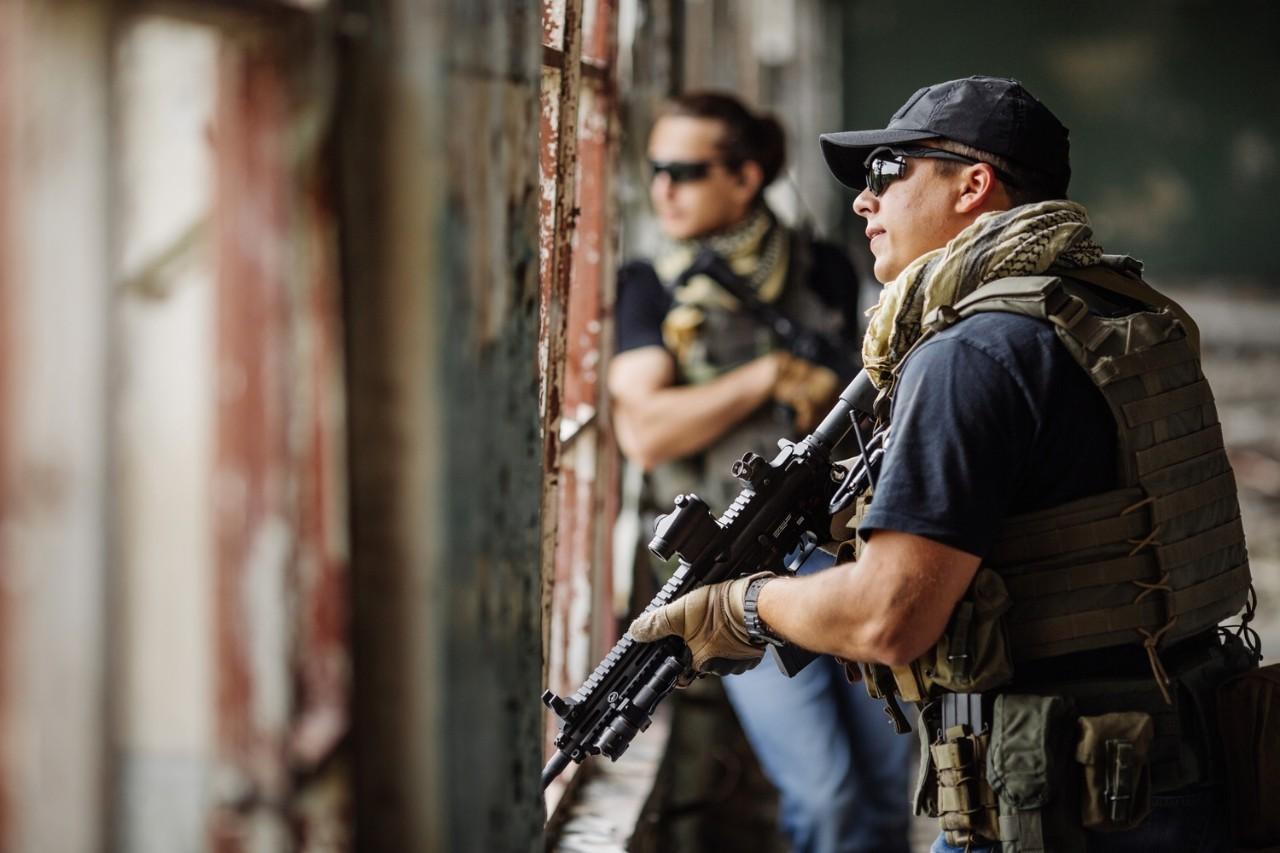 firearm handler