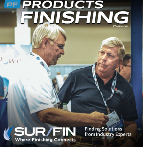 Surface Finishing Company Products Finishing Magazine Cover